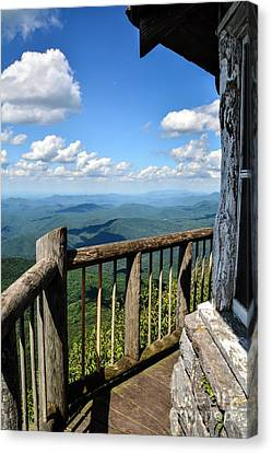 Mt. Cammerer Canvas Print by Debbie Green