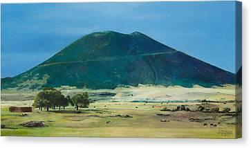 Mt. Capulin In Summer Canvas Print by Joshua Martin