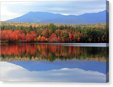 Mt. Chocorua Reflections I Canvas Print by Lynne Guimond Sabean