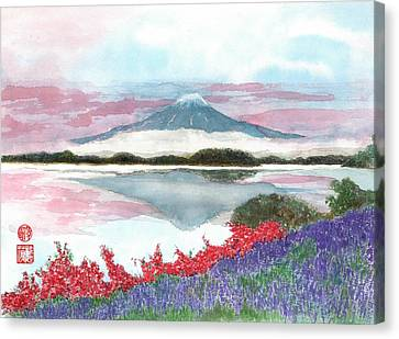 Mt. Fuji Morning Canvas Print