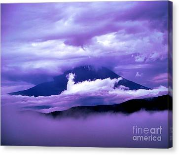 Mt Fuji Canvas Print by Yvonne Johnstone