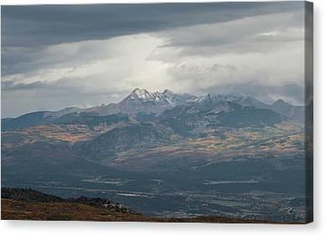 Mt. Hesperus Canvas Print by Joseph Smith