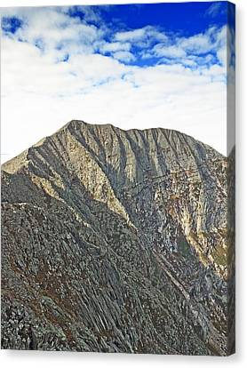 Mt. Katahdin Baxter State Park Maine Canvas Print by Brendan Reals