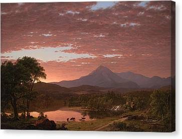 Mt Katahdin Canvas Print