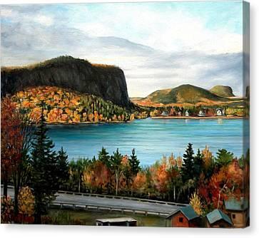 Mt. Kineo, Rockwood, Maine Canvas Print