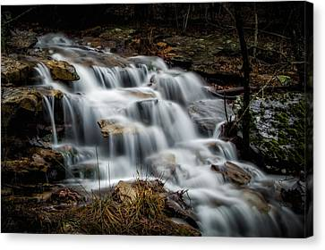 Mt. Magazine Cascade Canvas Print by James Barber