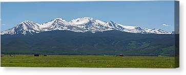 Mt. Massive - Spring Canvas Print by Aaron Spong