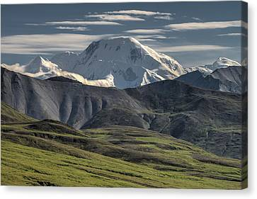 Canvas Print featuring the photograph Mt. Mather by Gary Lengyel