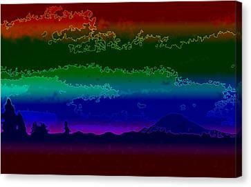 Mt. Rainier Dream Canvas Print