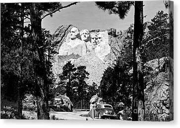 Mt Rushmore Canvas Print by American School