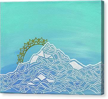 Mt. Serenity  Canvas Print