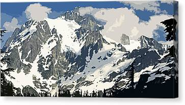 Mt. Shucksan Canvas Print by Larry Darnell