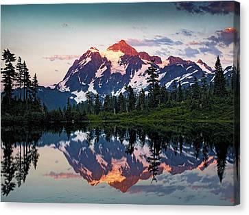 Mt. Shuksan Washington Northern Cascades Canvas Print