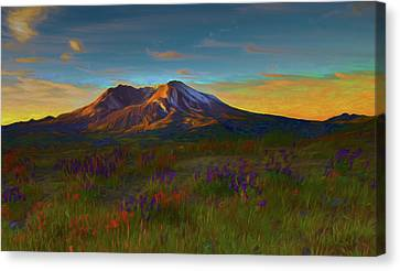 Mt. St. Helens Sunrise Canvas Print