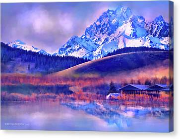 Mt. Stuart Canvas Print by Kari Nanstad