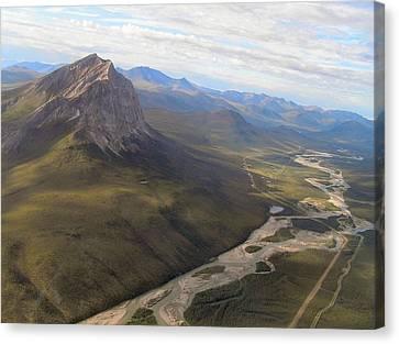 Mt. Sukakpak Canvas Print
