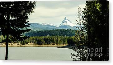Mt. Thielsen Landscape Canvas Print