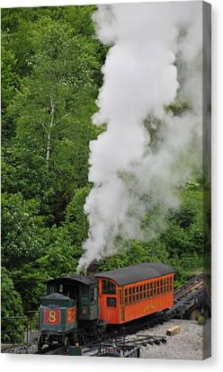 Mt Washington Cog Railroad Canvas Print