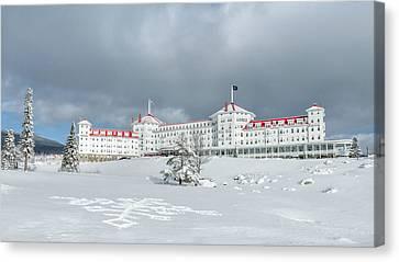 Mt. Washington Hotel Canvas Print by Joseph Smith