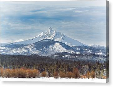 Mt. Washington Canvas Print by Joe Hudspeth