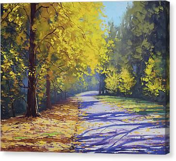 Autumn Scenes Canvas Print - Mt Wilson Gold by Graham Gercken