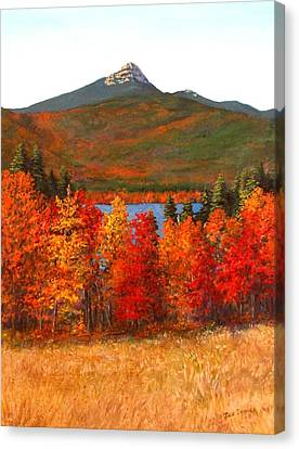 Mt.chocorua Canvas Print