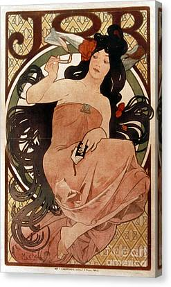 Mucha: Cigarette Paper Ad Canvas Print by Granger