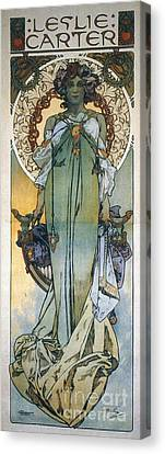 Mucha: Theatrical Poster Canvas Print by Granger