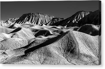 Mud Hills And Elephant Knees Canvas Print