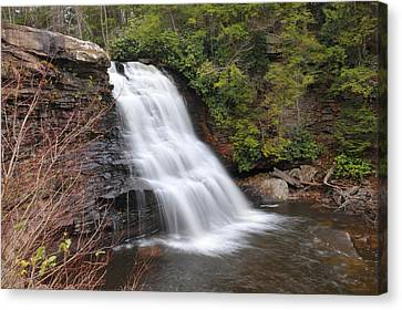 Canvas Print featuring the photograph Muddy Creek Falls by Dung Ma