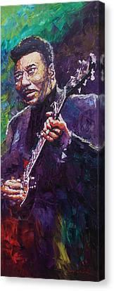 Muddy Waters 4 Canvas Print by Yuriy Shevchuk