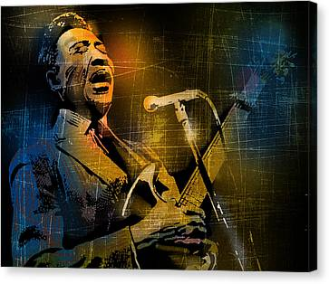 Muddy Waters Canvas Print by Paul Sachtleben