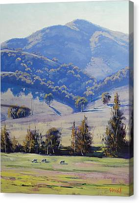Mudgee Hills Canvas Print by Graham Gercken