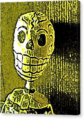 Canvas Print featuring the photograph Muertos 1 by Pamela Cooper