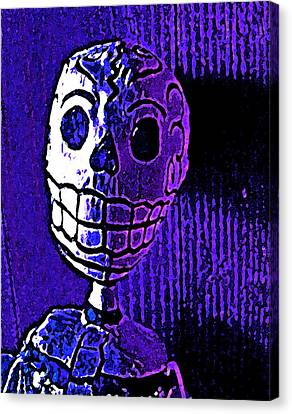 Canvas Print featuring the photograph Muertos 2 by Pamela Cooper