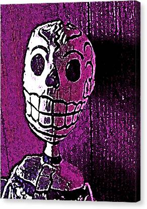 Canvas Print featuring the photograph Muertos 3 by Pamela Cooper