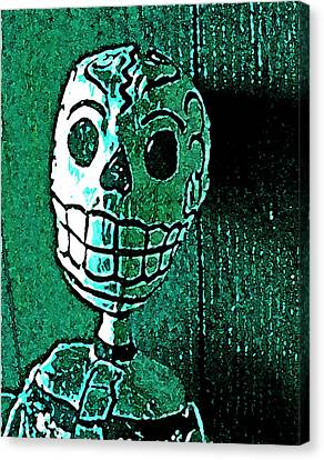 Canvas Print featuring the photograph Muertos 4 by Pamela Cooper