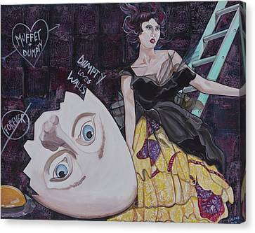 Muffet And Dumpty Canvas Print