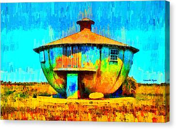 Mug House - Da Canvas Print by Leonardo Digenio