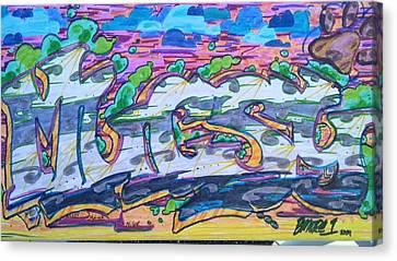 Mugsy Canvas Print