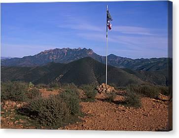 Mugu Peak Canvas Print by Soli Deo Gloria Wilderness And Wildlife Photography