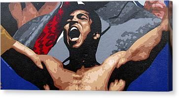 Muhammad Ali Canvas Print by Roberto Valdes Sanchez