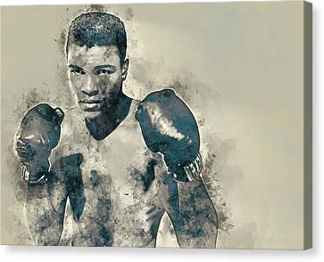 Boxe Canvas Print - Muhammad Ali, The Greatest by Dante Blacksmith