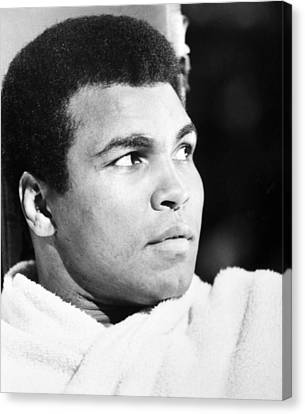 Muhammed Ali (b. 1942) Canvas Print by Granger