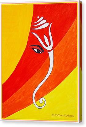 Muktidaya-bestower Of Eternal Bliss Canvas Print