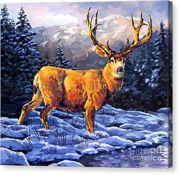 Mule Deer 2 Canvas Print