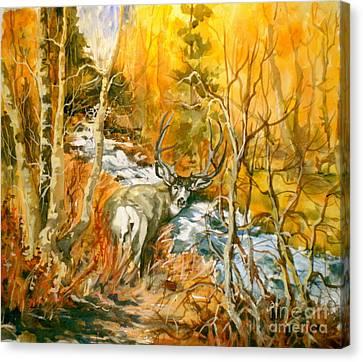 Mule Deer Bishop Creek Canvas Print