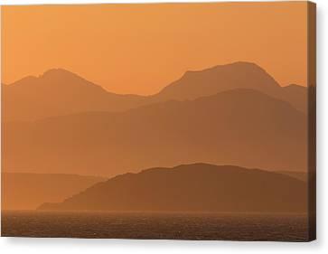 Mull Sunrise Canvas Print