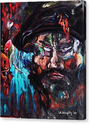 Mullah Madness Canvas Print by Lee Anne Stieglitz