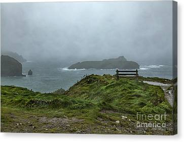 Canvas Print featuring the photograph Mullion Cove by Brian Roscorla
